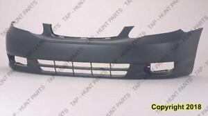 Bumper Front Primed Ce-Le Models High Quality Toyota Corolla 2003-2004