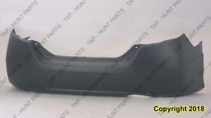 Bumper Rear Primed Coupe Honda Civic 2006-2011