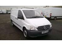 Mercedes-Benz Vito 113Cdi Van DIESEL MANUAL WHITE (2013)