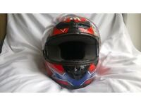 Taz design motorcycle helmet