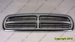 Grille Chrome/Black Dodge Dakota 1997-2004