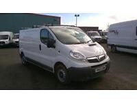 Vauxhall Vivaro 2.0Cdti [115Ps] Van 2.9T Euro 5 DIESEL MANUAL WHITE (2013)