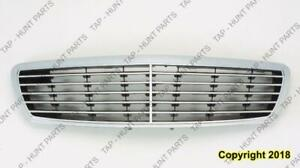 Grille Black With Chrome Front Ame (Avantgarde Package) Mercedes E-Class 2003-2006