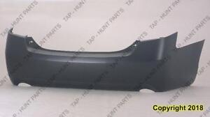 Bumper Rear Primed 6 Cyl Le/Xle/Base CAPA Toyota Camry 2007-2011