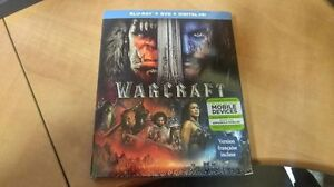 UNOPENED- Warcraft (2016)- Blu-Ray & DVD Combo