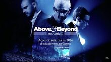 2 x Above & Beyond Acoustic Sydney tickets Sydney City Inner Sydney Preview