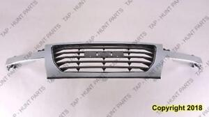 Grille Chrome Frame With Black Center GMC Canyon 2004-2012