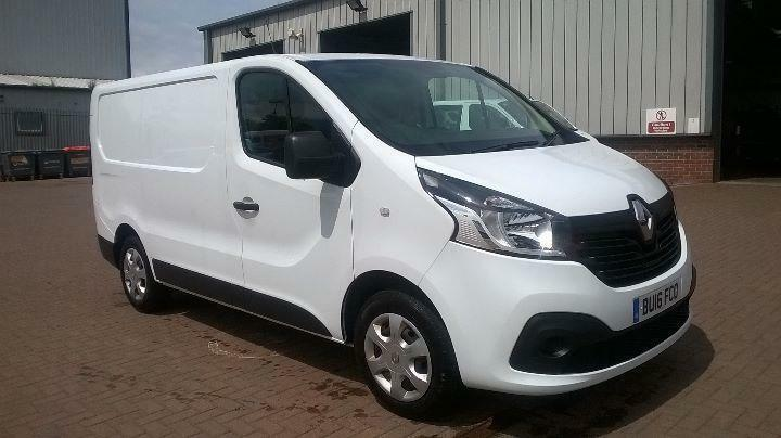 Renault Trafic Sl27dci 115 Business+ Van DIESEL MANUAL WHITE (2016)