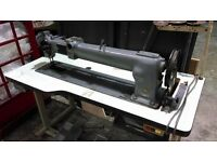 """144W304 Long Arm Singer Sewing machine 30"""" Heavy Duty/Industrial/Good Condition/Rare"""