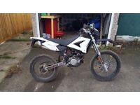 CPI SM50 2008 road legal motor cross