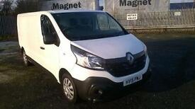 Renault Trafic Ll29dci 115 Business Van DIESEL MANUAL WHITE (2015)