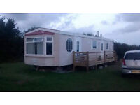 Atlas Sherwood Super static caravan 36' x 12' excellent condition, two bathrooms, two bedrooms.