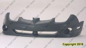 Bumper Front Matt Black Without Gt PONTIAC SUNFIRE 2000-2002