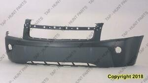 Bumper Front With Fog Light Hole CAPA Chevrolet Equinox 2005-2006
