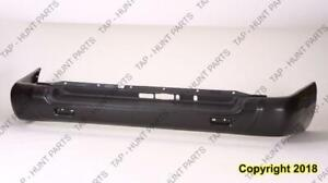 Bumper Rear Primed With Spare Tire CAPA Nissan PATHFINDER 1999-2004
