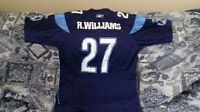 AUTHENTIC RICKY WILLIAMS ARGOS CFL JERSEY