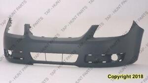Bumper Front Primed With Fog Light Hole Lt Model Has Without Uprer Bar In Grille Chevrolet Cobalt 2005-2010