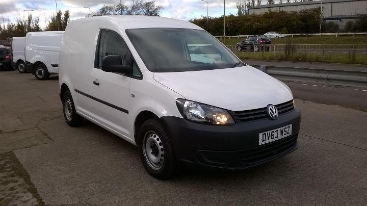 Volkswagen Caddy 1.6 Tdi 75Ps Startline Van DIESEL MANUAL WHITE (2013)