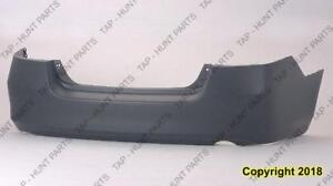 Bumper Rear Primed Sedan/Hybrid Honda Accord 2006-2007
