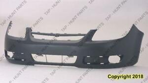 Bumper Front Without Fog Lamp Has Uprer Bar In Grille Chevrolet Cobalt 2005-2007