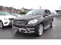 "mercedes ml gle 250 amg bluetec 57 mpg alloys now 22"" black"