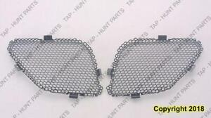 Grille Upper Passenger Side (Inr) Black Steel Use With Gm1000731 Cover PONTIAC G6 2005-2009