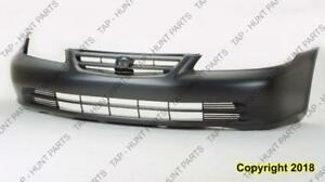 Bumper Front Primed Sedan Honda Accord 2001-2002
