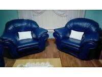 Sofa Blue two seats