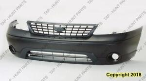 Bumper Front Gray Without Fog Lx-Base Ford Windstar 2001-2003