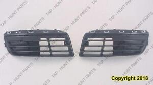 Grille Lower Passenger Side Without Fog Lamp Hole Volkswagen Jetta 2005-2010