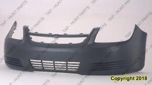 Bumper Front Base-Ls-Lt Models Primed Without Fog High Quality Chevrolet Cobalt 2005-2010