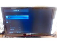 Samsung LCD TV free view 22 inch