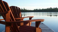 Lodge and guest cabin 4.1 acres crown land 780` on Whitney Lake