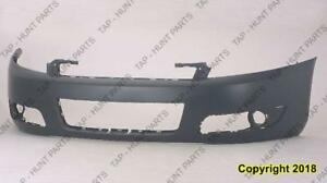 Bumper Front Primed With Fog Lamp Hole Chevrolet Impala 2006-2013