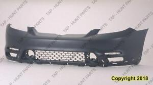 Bumper Front Primed With Spoiler Hole Xr/Xrs Model Toyota Matrix 2003-2004