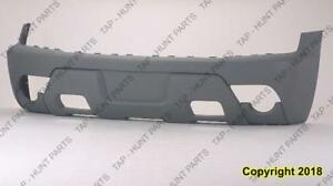 Bumper Front 1500 Model With Body Cladding Textured Grey Chevrolet Avalanche 2002