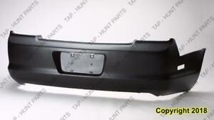 Bumper Rear Primed Coupe Honda Accord 1998-2000