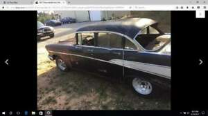 57 Bel Air 4 door Project