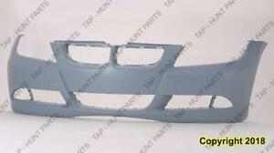 Bumper Front Without Sensor Without Headlamp Wash Hole Primed Sedan 3.0L/Wagon CAPA BMW 3-Series 2006-2008