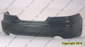 Bumper Rear Primed Coupe Honda Accord 2006-2007
