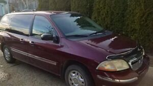 2001 Ford Windstar SEL Minivan, Van