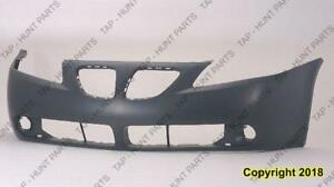 Bumper Front Primed Base-Gt-Value Model CAPA PONTIAC G6 2005-2010