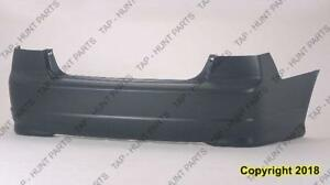 Bumper Rear Primed Sedan CAPA Honda Civic 2004-2005