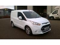 Ford Transit Connect 1.6 Tdci 115Ps Limited Van DIESEL MANUAL WHITE (2015)
