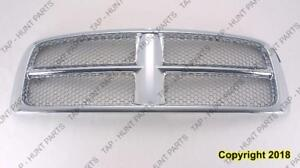 Grille Chrome Frame With Painted Bars Dodge Ram 2002-2005
