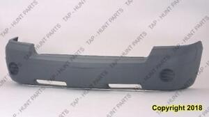 Bumper Front Textured Gray Without Fog Without Moulding Capa Dodge Dakota 2005-2007