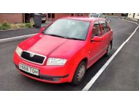 Skoda fabia 1.4 petrol 2001 cat N, drives well, see pictures for damage