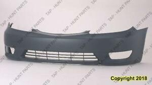 Bumper Front Primed Se/Xle Usa (With Fog Lamp Hole) CAPA Toyota Camry 2005-2006