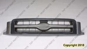 Grille Xe Model Silver Front Om 12/1998-2001 Nissan PATHFINDER 1998-2001