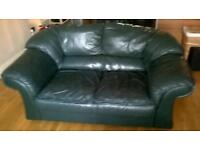 Free leather couch.